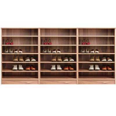 aaronation 雷思克設計師180~240cm開放式矮鞋櫃-量身訂製系統家具