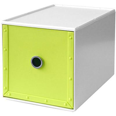 Waybe PP收納盒(綠M)