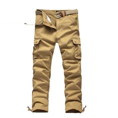 美國熊 立體感多口袋‧ 紮實水洗面料‧六袋款工作褲
