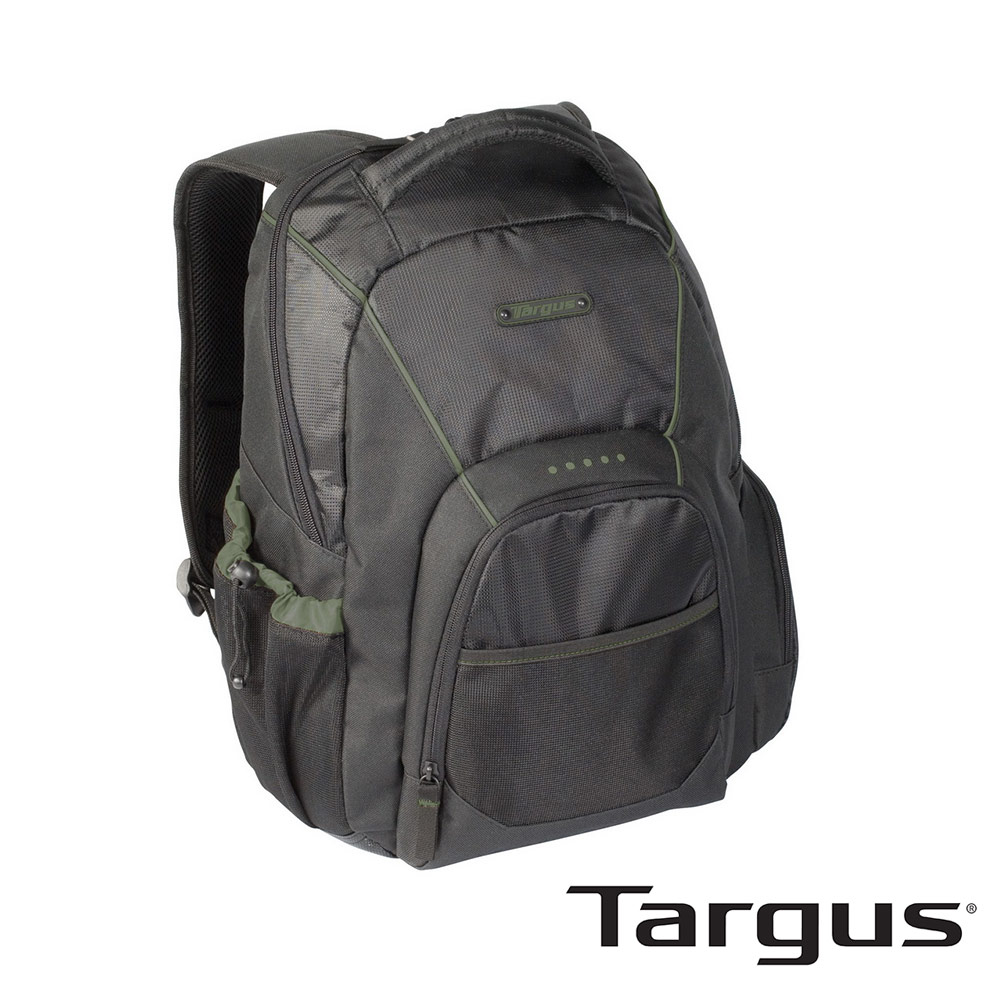 Targus 輕省休閒後背包 15.4吋(黑)
