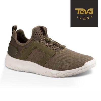 TEVA 美國 男 Arrowood Swift Lace 輕量休閒鞋 (綠)