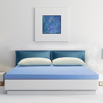 幸福角落 防蹣抗菌布套10cm釋壓記憶床墊-雙人加大6尺