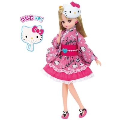 TAKARA-TOMY-莉卡娃娃-KITTY浴衣連身裙莉卡娃娃