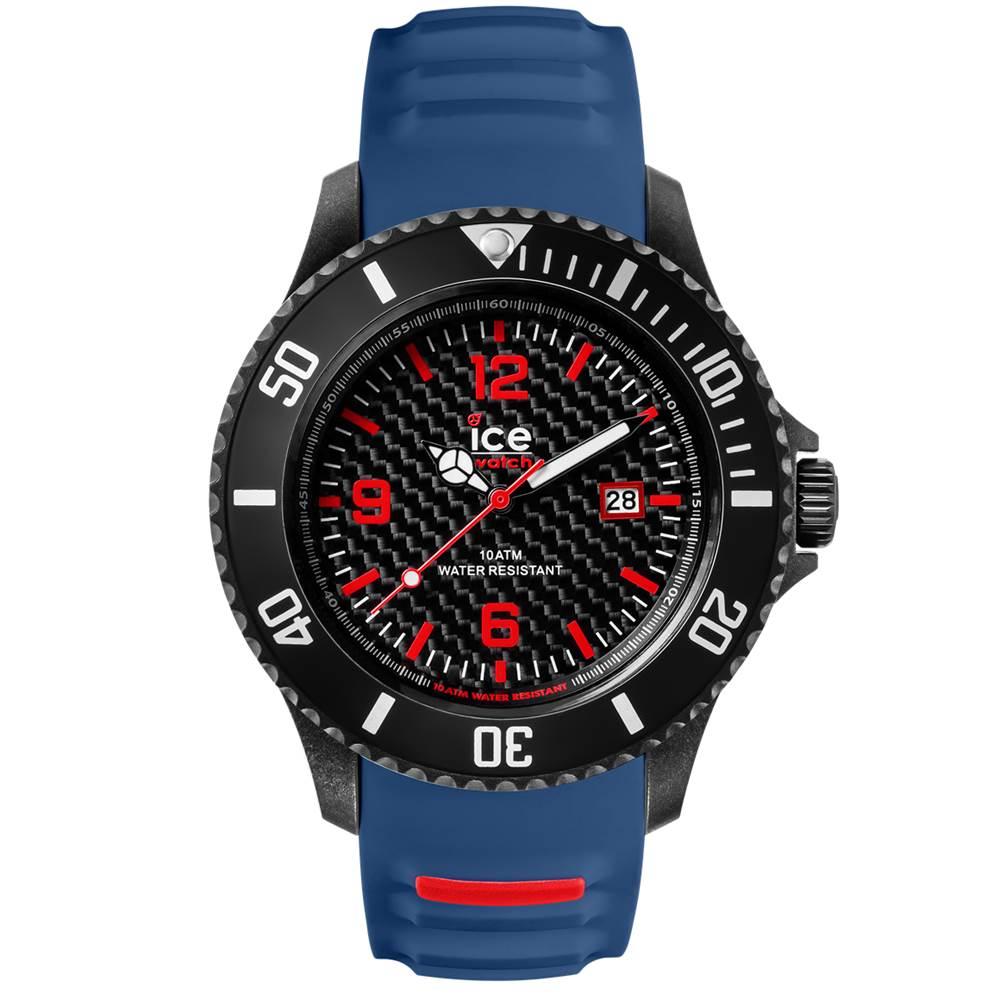 Ice-Watch 碳纖系列 冷冽都會手錶-藍/48mm