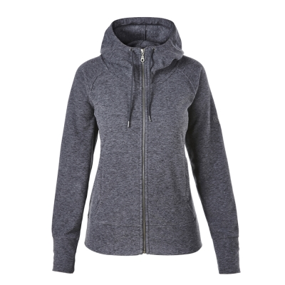 【Berghaus貝豪斯】女款刷毛保暖立領外套H22FR6-灰