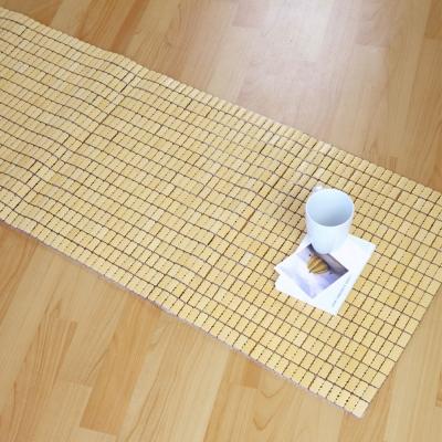 絲薇諾 經典手作麻將竹坐墊-3人座(50×160cm)