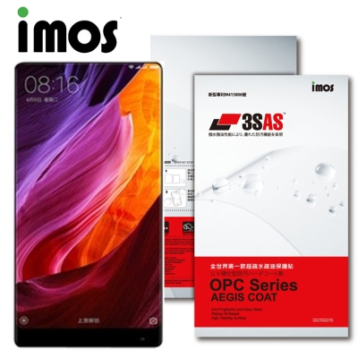 iMOS 小米 MIX  3SAS 疏油疏水 螢幕保護貼