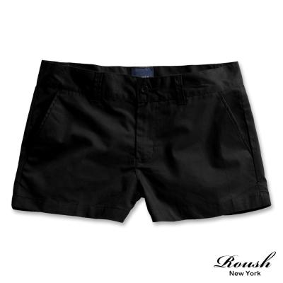 ROUSH 女生基本款美式水洗短褲 ( 2 色)