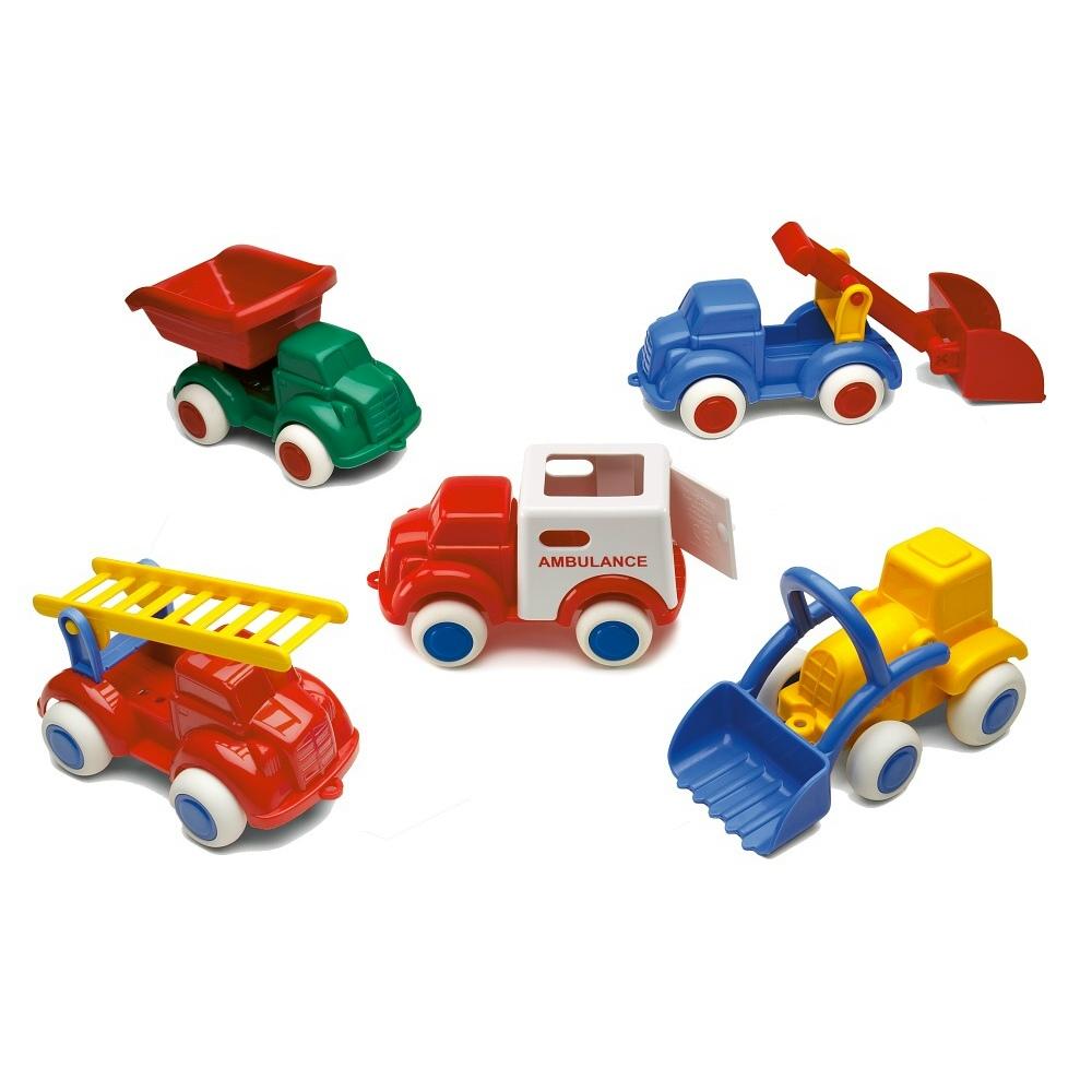 瑞典Viking Toys維京玩具-彩色小卡車2入組(款式隨機)