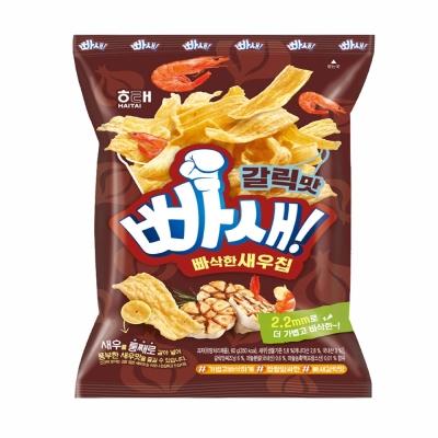 海太 爆脆蝦片-蒜味(60g)