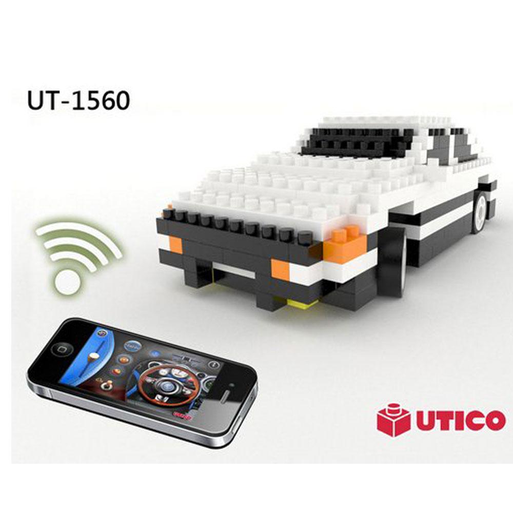 賽先生科學UTICO藍芽遙控積木車-AE86