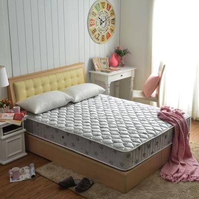 MG抗菌竹碳紗乳膠防潑水蜂巢獨立筒床組-單人3.5尺