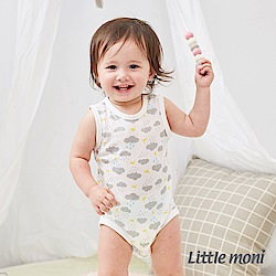Little moni 家居系列背心包屁衣 (3色可選)