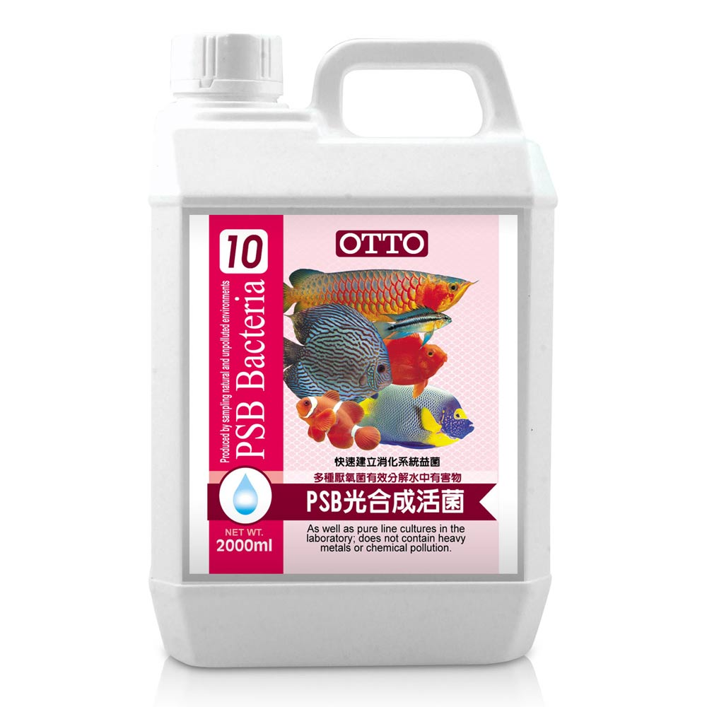 OTTO奧圖 PSB光合成活菌 2000ml x 2
