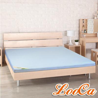 LooCa 高規HT吸濕排汗5cm乳膠床墊-加大6尺