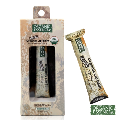 Organic Essence 天然護唇膏 晴空香草