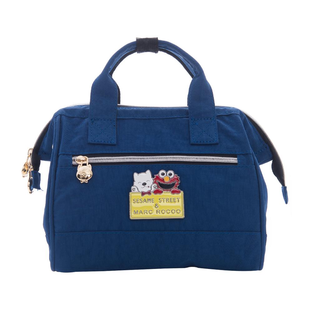 MARC ROCOOX芝麻街聯名款-漫遊輕旅迷尼手提2用包-8003-謐靜藍
