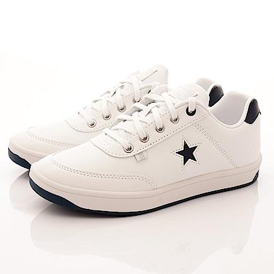 日本月星頂級童鞋 Freestar休閒鞋 0025白藍(中大童段)T2