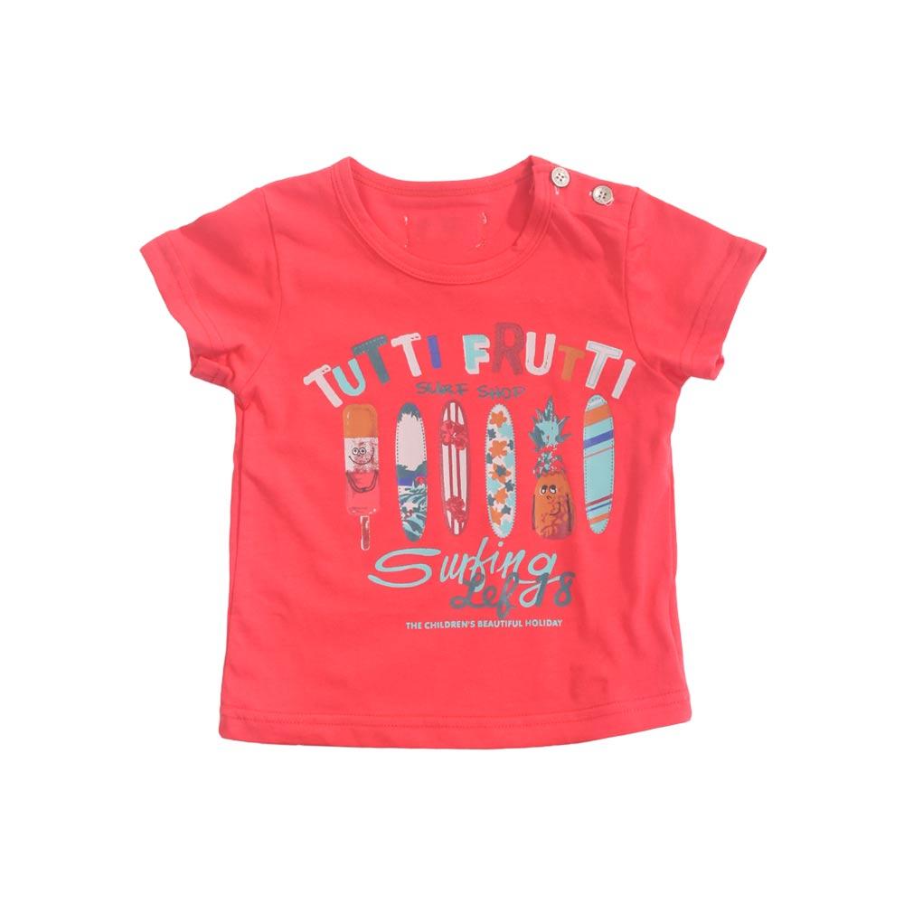 魔法Baby 專櫃款1~3歲男寶寶短袖套裝 (紅.綠) k41095