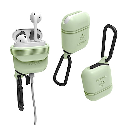 catalyst Apple AirPods 保護收納盒-夜光綠