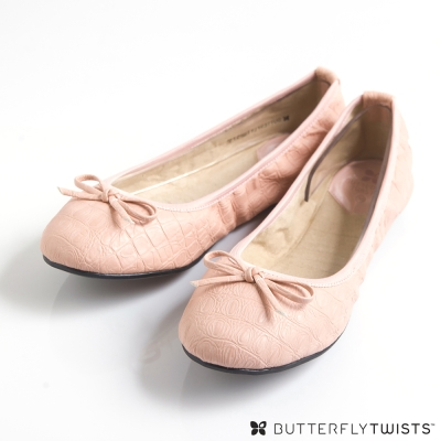 BUTTERFLY TWISTS-VICTORIA可折疊扭轉芭蕾舞鞋-淡粉紅 @ Y!購物