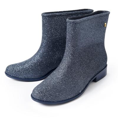 Melissa MOON星燦短靴-藍