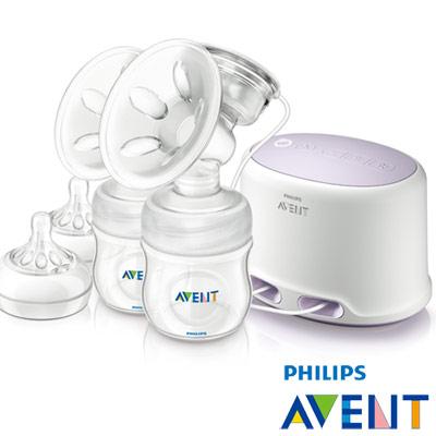 [下殺43折]PHILIPS AVENT 輕乳感PP專業型雙邊電動吸乳器