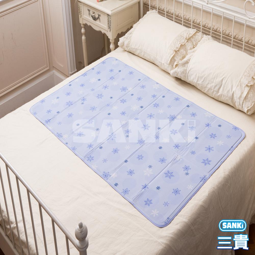 三貴SANKI 雪花紫冰涼床墊1床 90x140cm