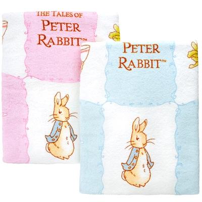 奇哥 比得兔印花大浴巾-藍