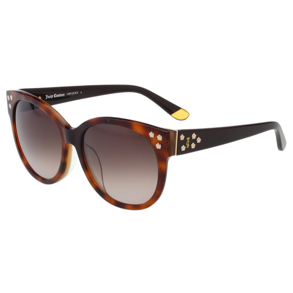 Juicy Couture 復古 太陽眼鏡 (琥珀色)JUC801FS
