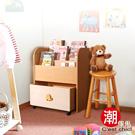 Cest Chic - 小象君繪本讀物收納活動櫃(寬73cm)-DIY