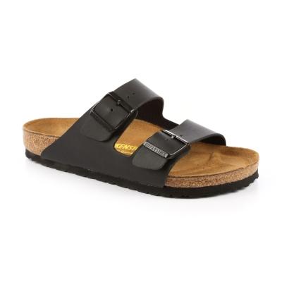 勃肯BIRKENSTOCK 051791。亞利桑那 經典二條拖鞋(黑)