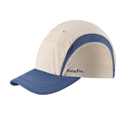 【SNOWFOX 雪狐】戶外休閒旅遊透氣抗UV中性款球帽 CA-21518 卡其