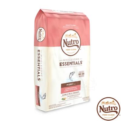 【Nutro 美士】全護營養 成犬(特級鮭魚+糙米+地瓜)30磅 X1包