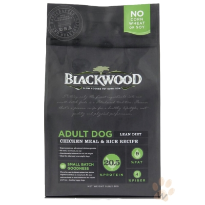 柏萊富blackwood 特調低卡保健配方(雞肉+糙米)犬糧15磅