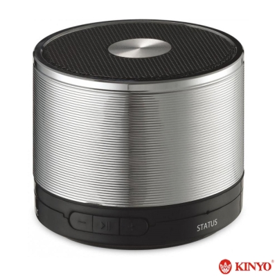 KINYO迷你隨身藍牙讀卡音箱(BTS-681)
