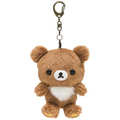 拉拉熊歡樂時光系列毛絨公仔吊飾。蜂蜜小熊 San-X