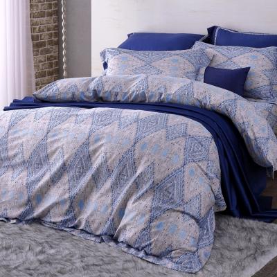HOYA H Series莫雷 雙人四件式頂級400織匹馬棉被套床包組