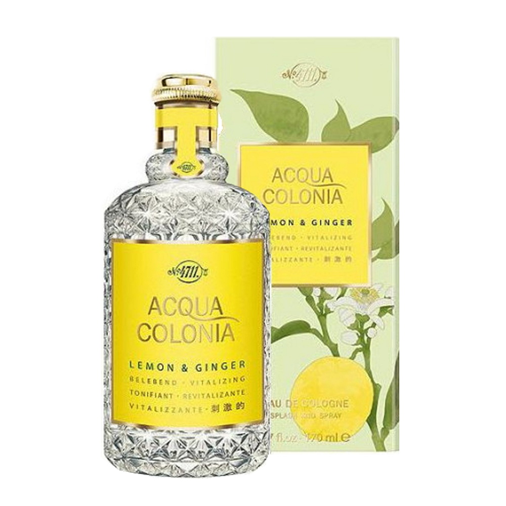 4711 Acqua Lemon & Ginger  檸檬&生薑古龍水 170ml