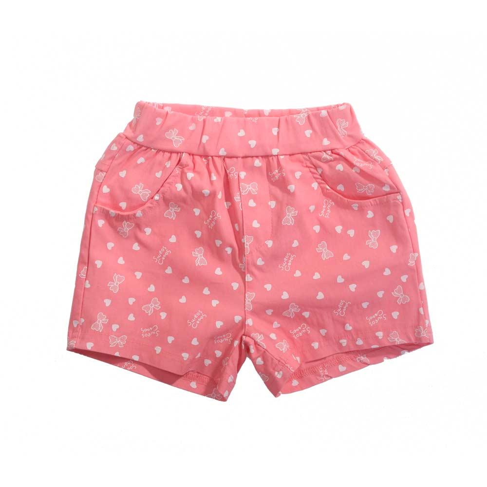 女童夏季短褲 魔法Baby k40791