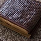 葉月 專利-炭化3D透氣壓邊麻將型孟宗竹涼墊涼蓆竹蓆-雙人5X6.2尺