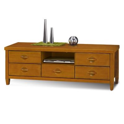 愛比家具 森杰5尺柚木色電視櫃/長櫃