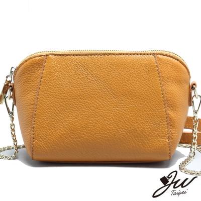 JW-真皮布拉格新時尚鏈帶包-共三色