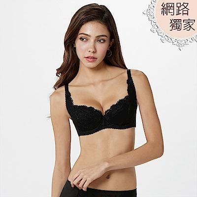 曼黛瑪璉 經典內衣 B-D罩杯(黑)