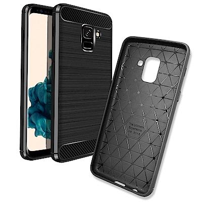 LUCCIDA Samsung Galaxy A8(2018)時尚雙料保護殼