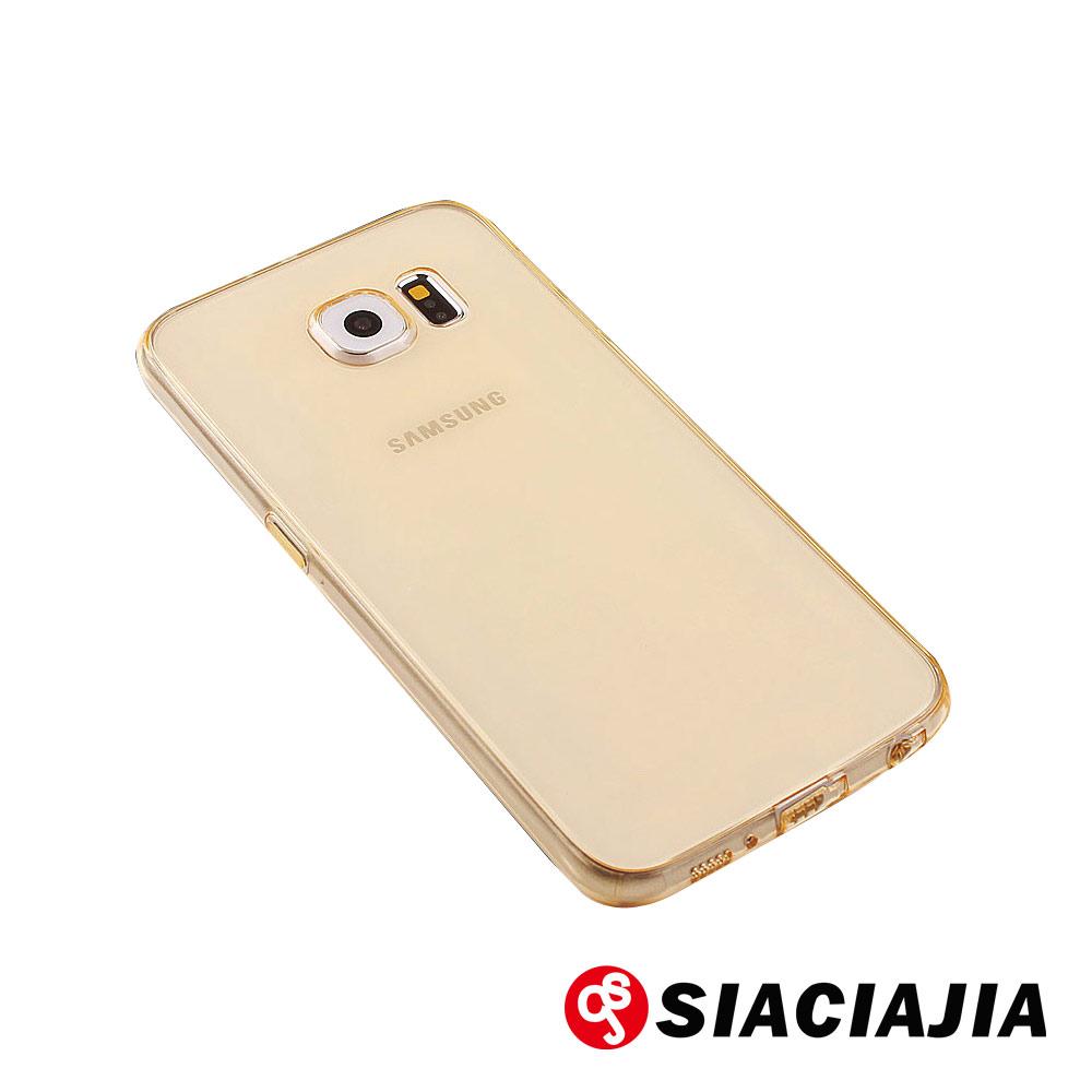 水漾-Samsung S7 Edge一體成型高透氣TPU手機軟殼