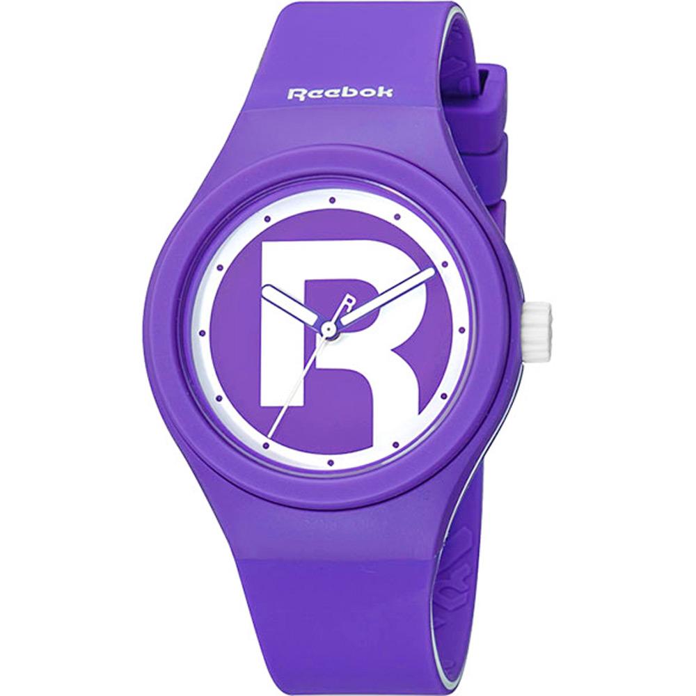 Reebok DROP RAD潮流時尚腕錶-紫/37mm