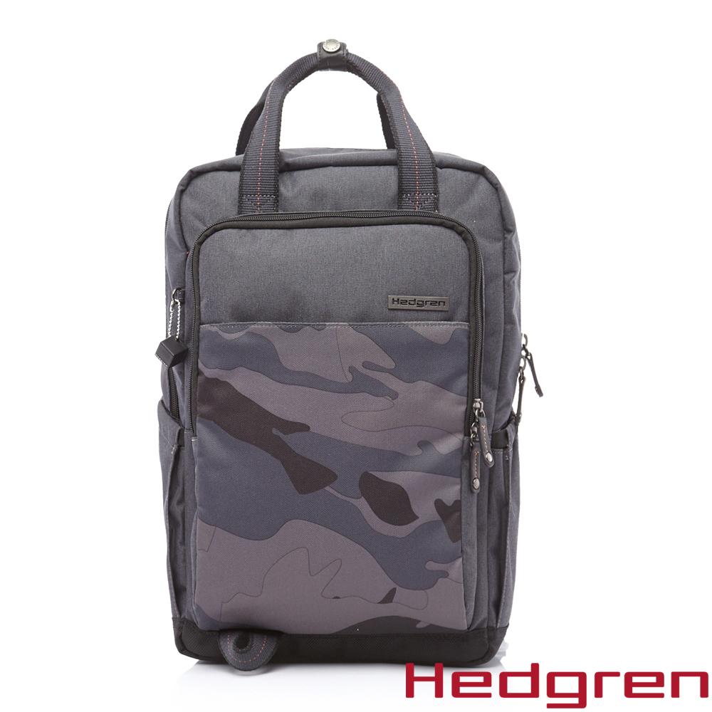 HEDGREN -HCAO -Carry Out 街頭系列-手提後背兩用方包-藍灰色