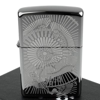 ZIPPO 美系~Asian Floral-雙重雕刻工法加工打火機