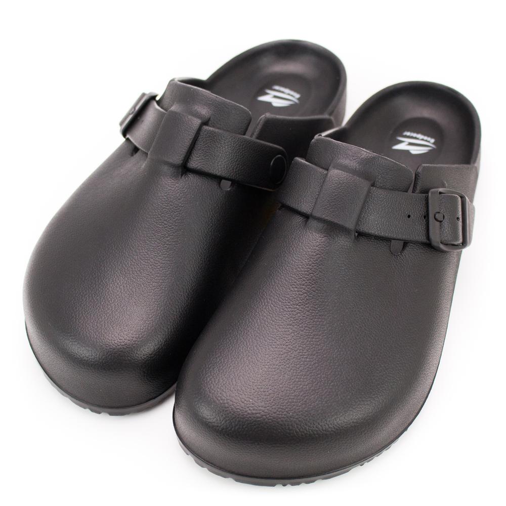 Roadpacer-男女包頭涼拖鞋BS022BLK-黑